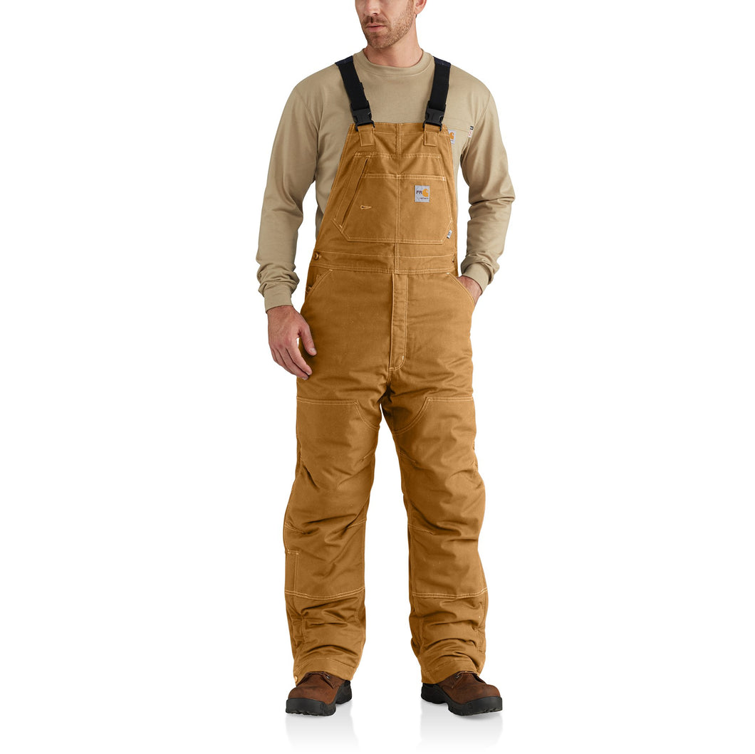102691 211 - FLAME-RESISTANT QUICK DUCK® BIB OVERALL/QUILT-LINED