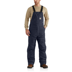 102691 410 - FLAME-RESISTANT QUICK DUCK® BIB OVERALL/QUILT-LINED