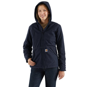 102694 - WOMEN'S FLAME-RESISTANT FULL-SWING® QUICK DUCK® SHERPA JACKET