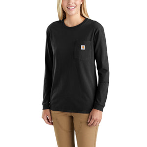 103244 - WK126 WORKWEAR POCKET LONG SLEEVE T-SHIRT