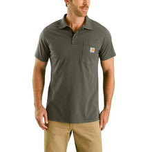103569 - CARHARTT FORCE® COTTON DELMONT POCKET POLO