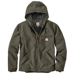 104392 - CARHARTT® WASHED DUCK SHERPA LINED JACKET