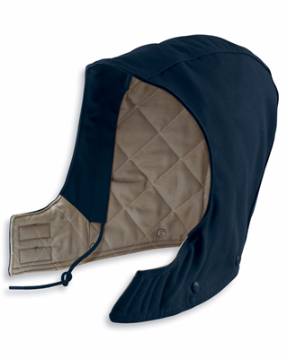 FRA265 - FLAME-RESISTANT DUCK HOOD/QUILT-LINED