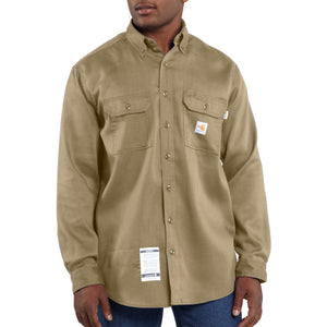 FRS003 - FLAME-RESISTANT LIGHTWEIGHT TWILL SHIRT