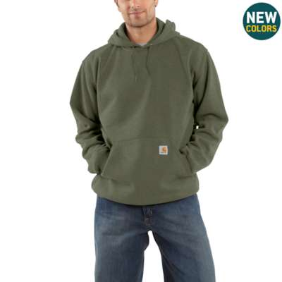 K121 - MIDWEIGHT HOODED PULLOVER SWEATSHIRT