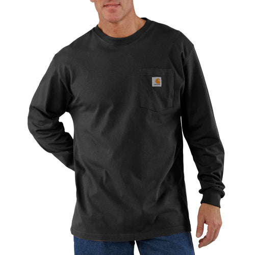 K126 A - LONG SLEEVE WORKWEAR POCKET T-SHIRT