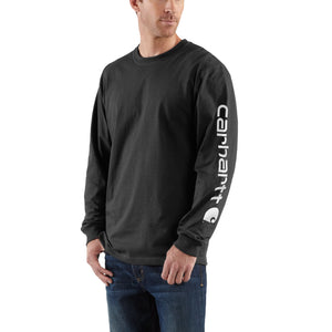 K231 - SIGNATURE LOGO LONG SLEEVE T-SHIRT