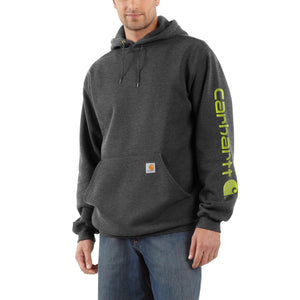 K288 - MIDWEIGHT SIGNATURE SLEEVE HOODED SWEATSHIRT