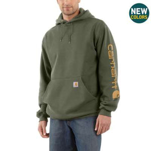 K288 (SEASONAL)- MIDWEIGHT SIGNATURE SLEEVE HOODED SWEATSHIRT