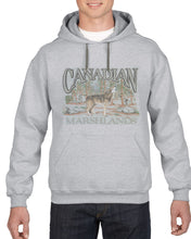 P551H SPG - RETRO CANADIAN HOODIE, WOLF