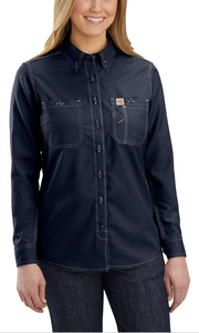 104147 - FR FORCE RELAXED FIT LIGHTWEIGHT LONG-SLEEVE BUTTON FRONT SHIRT