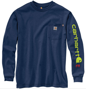 104130 - FR FORCE ORIGINAL FIT MIDWEIGHT LONG-SLEEVE SIGNATURE LOGO T-SHIRT