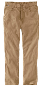 104204 DARK KHAKI- FLAME-RESISTANT RUGGED FLEX® RELAXED FIT RIGBY PANT