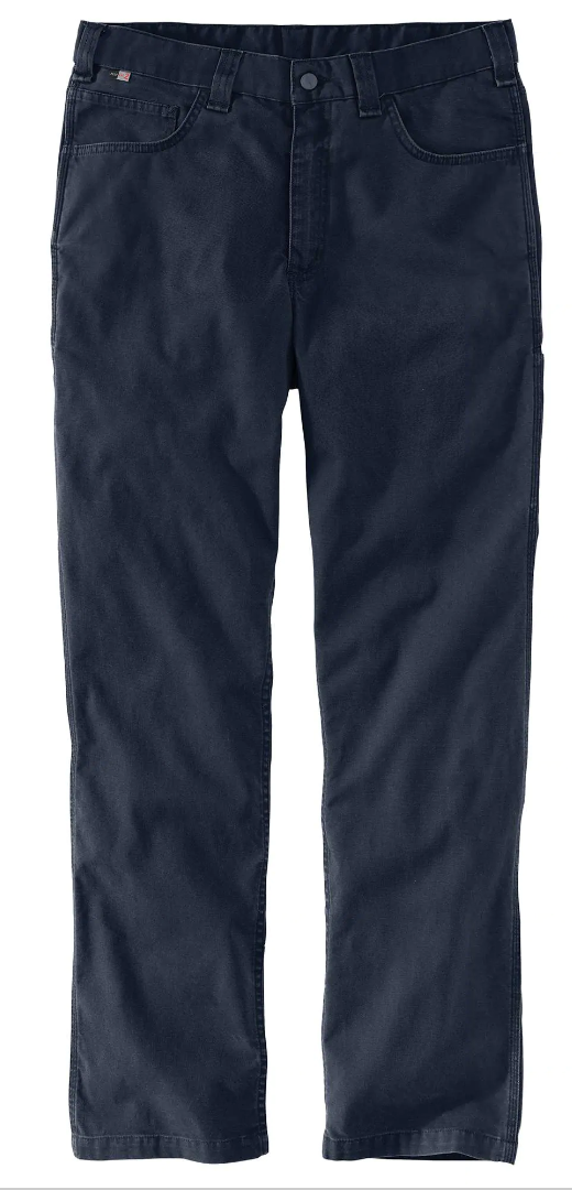 104204 NAVY- FLAME-RESISTANT RUGGED FLEX® RELAXED FIT RIGBY PANT