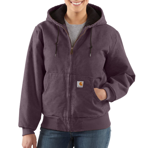WJ130 - SANDSTONE ACTIVE JAC / QUILTED FLANNEL