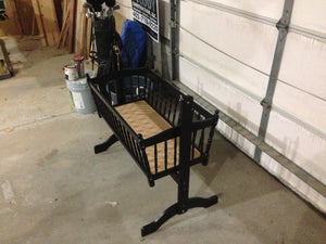 Mad Dash....Baby Cradle Refinish