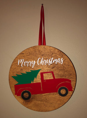 Farmhouse inspired Christmas Ornaments