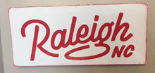 12in x 24in Custom Wood Typography Sign
