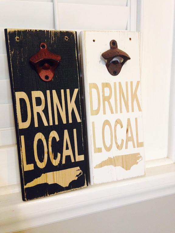 Custom Wood Beer Opener