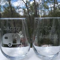 Custom Etched Glassware