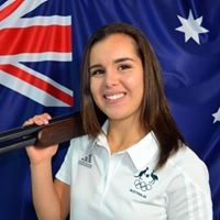 Aislin Jones, women's skeet shooter from Australia