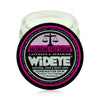 Natural vegan skincare balancing facial moisturising cream in glass container made by WiDEYE.