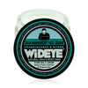 Natural vegan skincare Skin Management face cream moisturiser in glass jar with lid removed, handmade by WiDEYE in Rye.