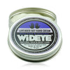 Natural vegan skincare Lavender day hand cream in aluminium tin handmade by WiDEYE in Rye.
