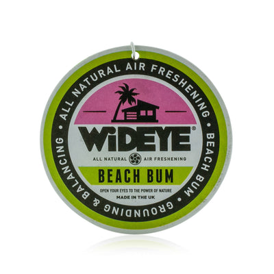 Natural aromatherapy essential oil 'Beach Bum' Juniper, lime and tangerine rechargable air freshener for your car or home by WiDEYE