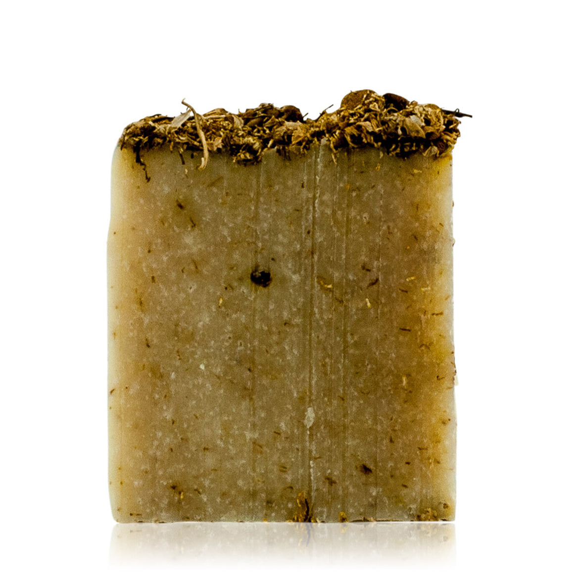 Natural skincare handmade soap bar with Chamomile and Lavender by WiDEYE.