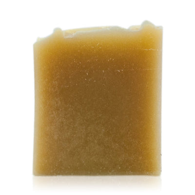 Natural vegetarian skincare naked goat's milk unscented soap bar, handmade by WiDEYE in Rye.