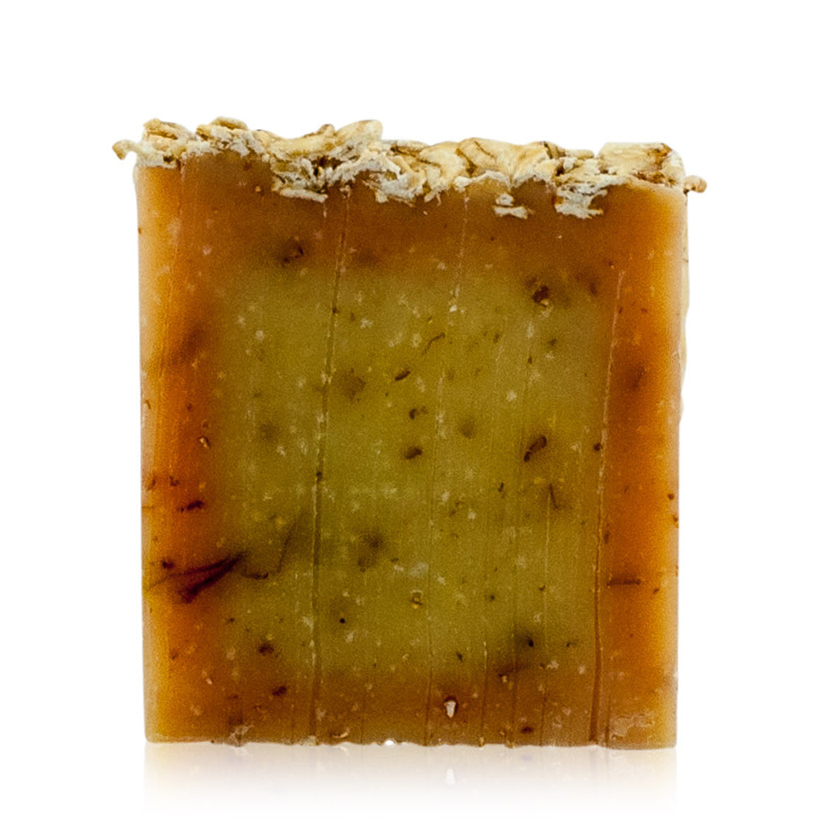 Natural vegan skincare Oats butter soap bar, handmade by WiDEYE in Rye.