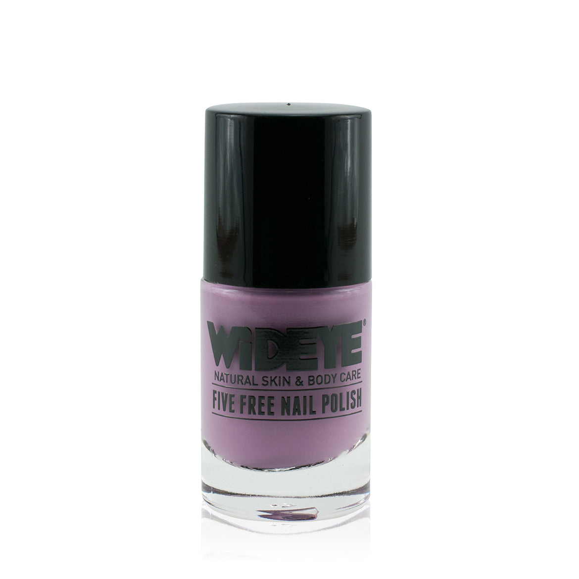Mauve nail polish in glass bottle by WiDEYE.