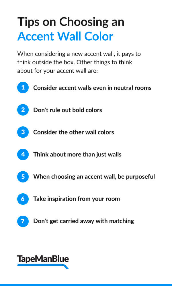 Tips on Choosing an Accent Wall Color