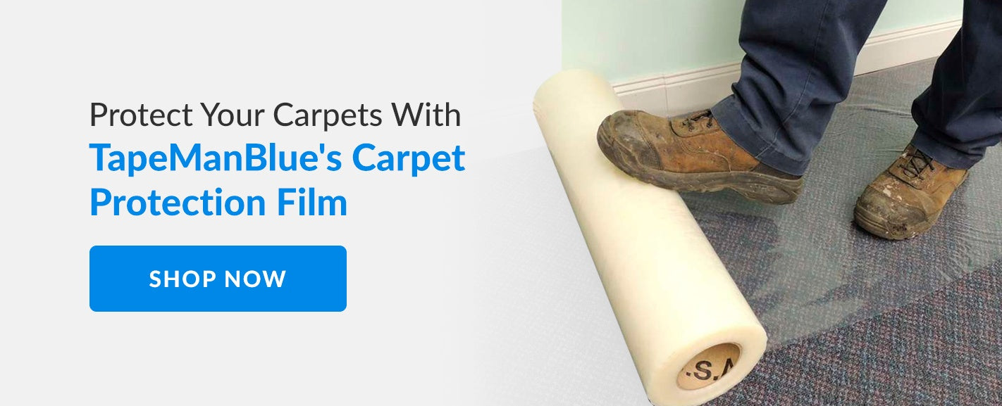 Shop online for quality carpet protection film