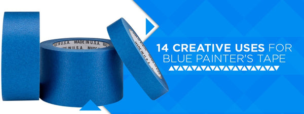 14 Creative Uses for Blue Painter's Tape
