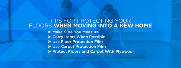 Tips for protecting your floors when moving into a new home