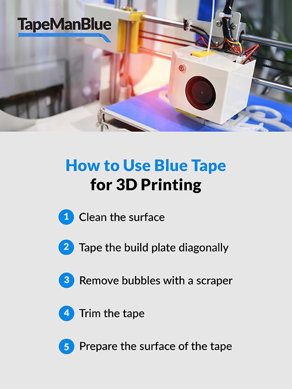 How to use Blue Painter's Tape for 3D printing
