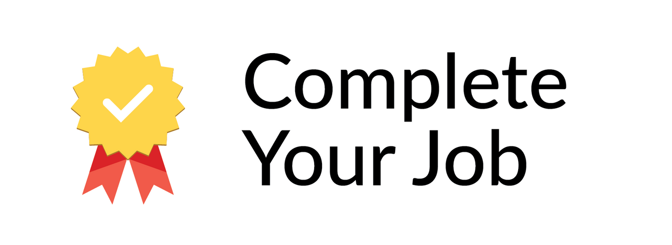 complete your job icon
