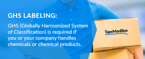 Globally Harmonized System of Classification is required if you use chemicals