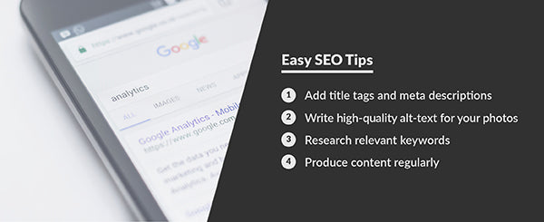 Easy SEO tips to optimize your pages for Google search