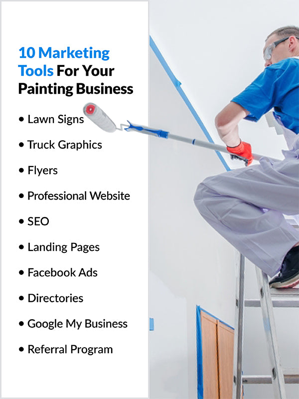 10 effective marketing tools for your painting business