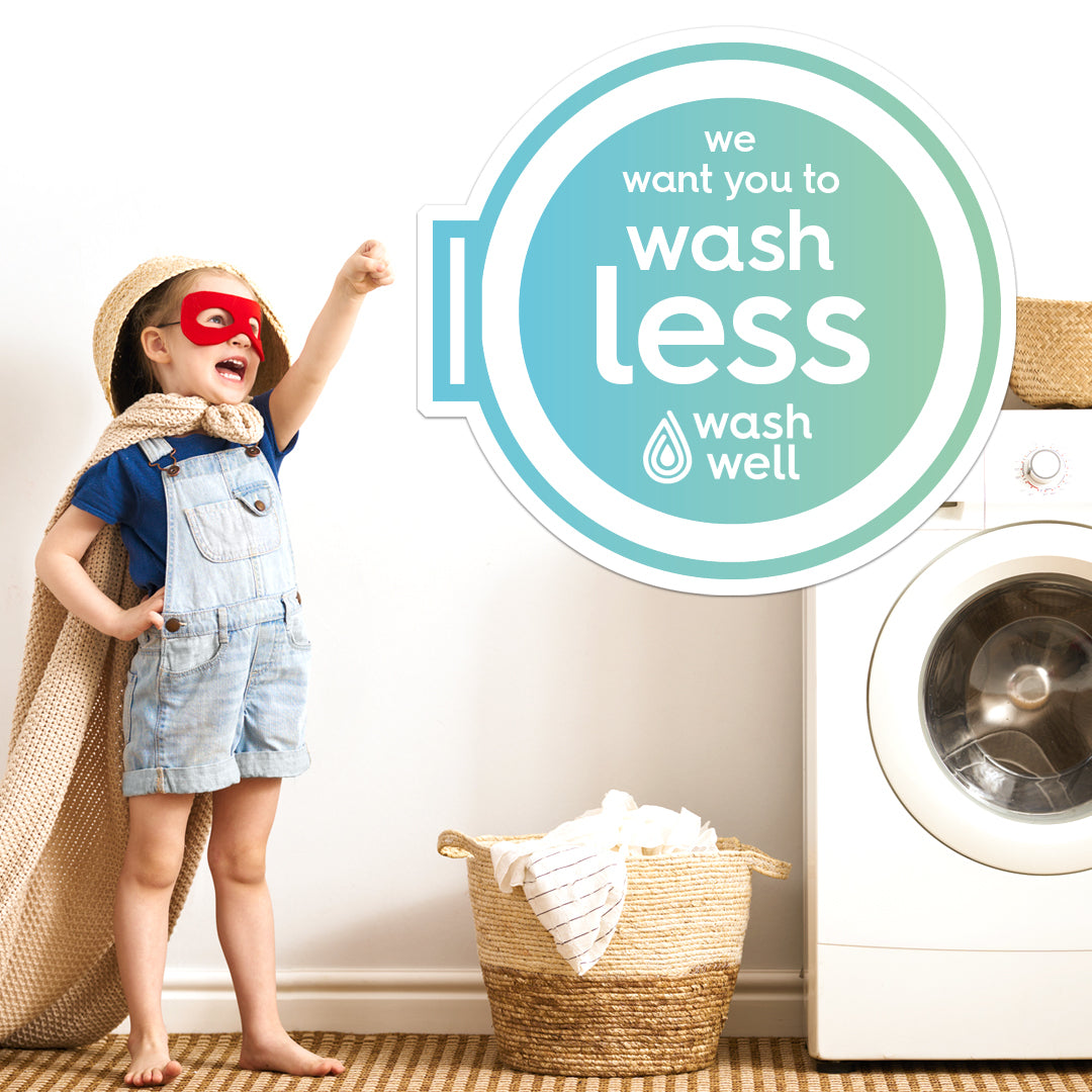 Want to help the planet? Time to #washwell and take a load off!