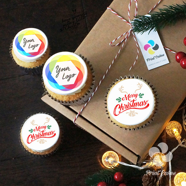 Deck The Halls with our Print Cakes