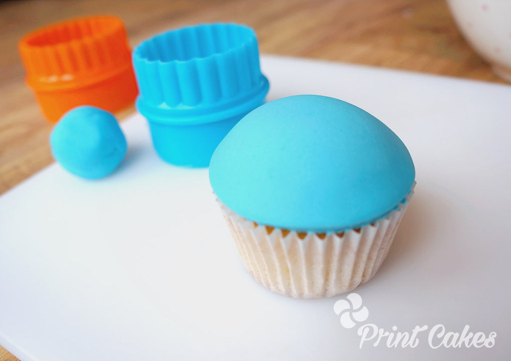 Domed cupcake tutorial for Father's Day Gift