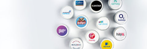 branded cupcakes for corporate events and parties