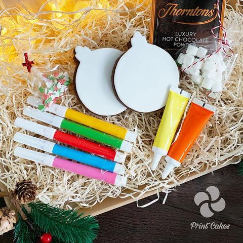 Christmas Bauble Biscuit Decorating Kit