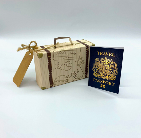 Passport Reveal Gift for fathers day