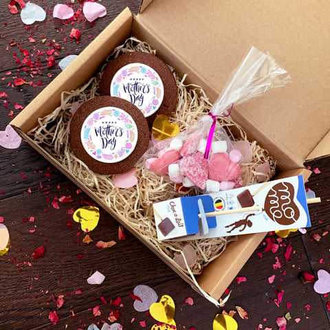 mothers day hot chocolate treat box uk delivery