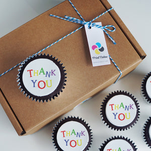 Thank You Cupcake Gift Box